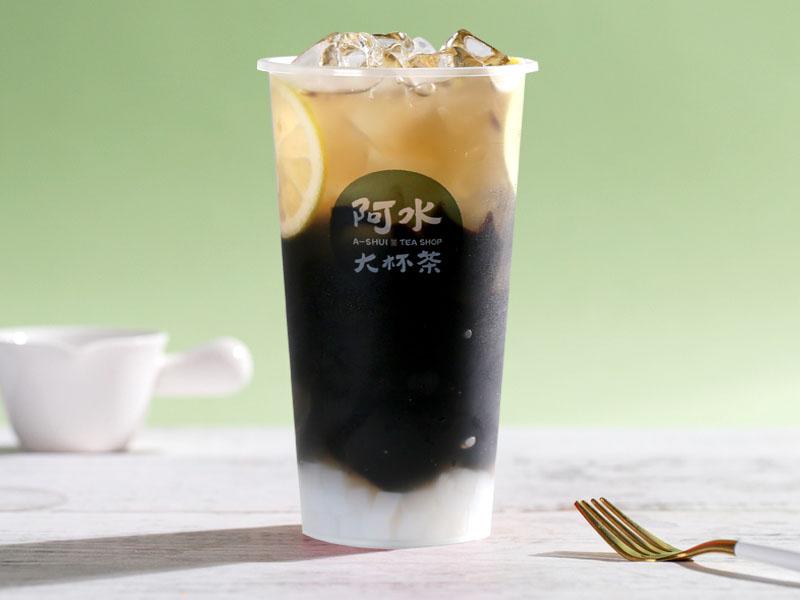 柠檬仙草冻