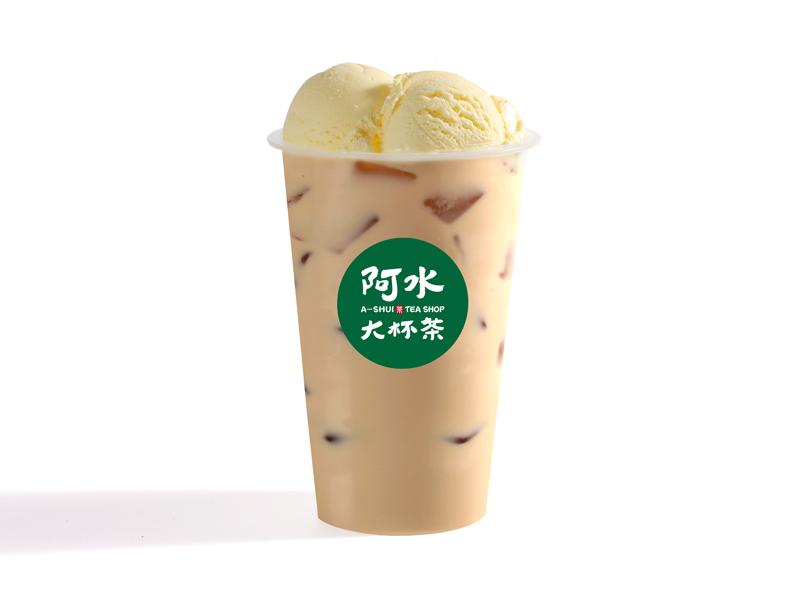 雪顶冰咖啡